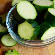 Zucchini Baby Food Puree